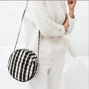 Baggu Canvas Circle Purse Plaid